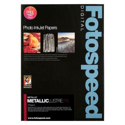 Fotospeed Metallic Lustre, 275gsm, A4 - 25 sheets