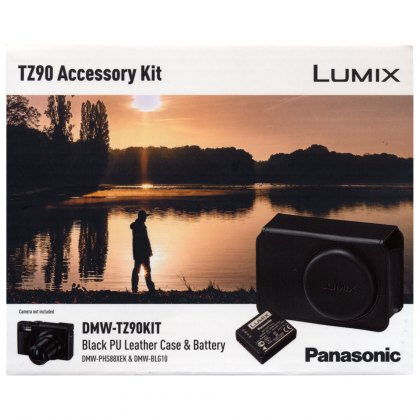 Panasonic PHS88 case and BLG10 battery for TZ90