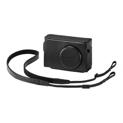 Panasonic DMW-PHS83 Black Leather case for TZ80
