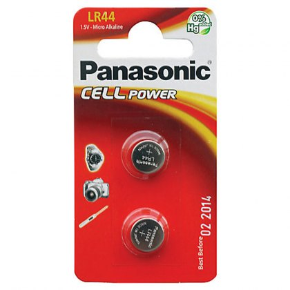 Panasonic LR-44/A76 Twin pack