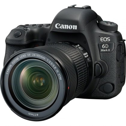 Canon EOS 6D Mark II DSLR Camera with 24-105 STM Lens