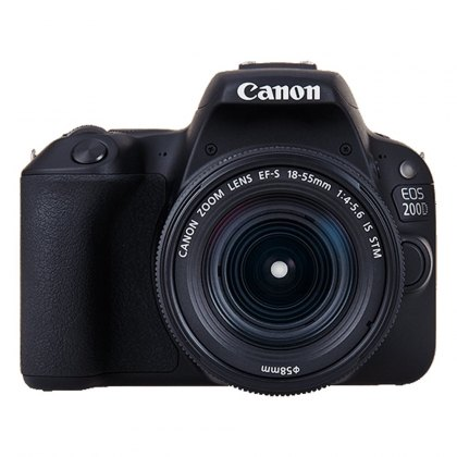 Canon EOS 200D, 18-55mm IS STM