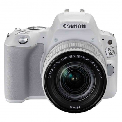 Canon EOS 200D, 18-55mm IS STM White