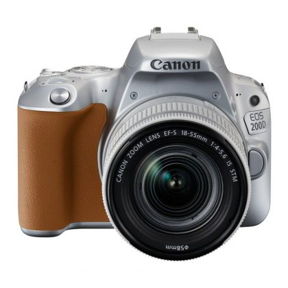 Canon EOS 200D, 18-55mm IS STM Silver