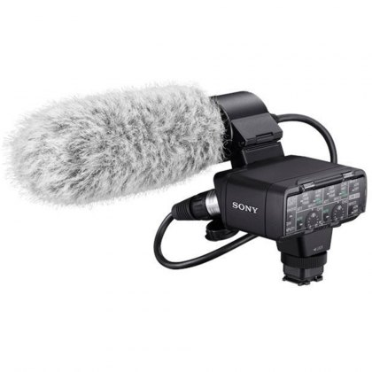 Sony XLR-K2M Microphone and Adaptor
