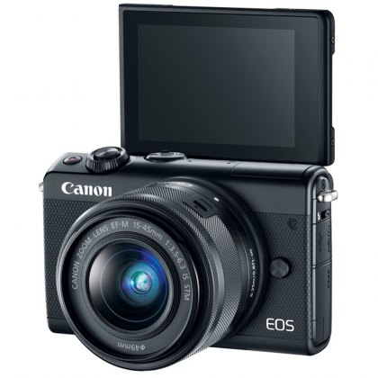 Canon EOS M100 with 15-45mm Limited Edition, Black