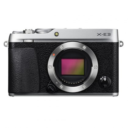 Fujifilm X-E3 Body Only, Silver
