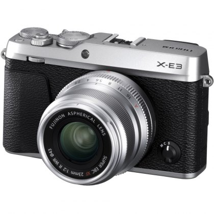 Fujifilm X-E3 with XF 23mm F2 lens, Silver