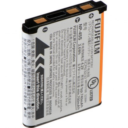 Fujifilm NP-45S Lithium-Ion Rechargeable Battery