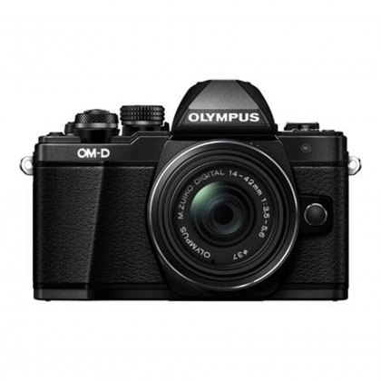 Olympus OM-D E-M10 Mark II Camera with 14-42mm EZ Lens, black