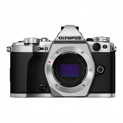 Olympus OM-D E-M5 Mark II Mirrorless Camera Body, silver