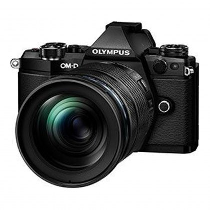 Olympus OM-D E-M5 Mark II with 12-100mm IS Pro Lens, black
