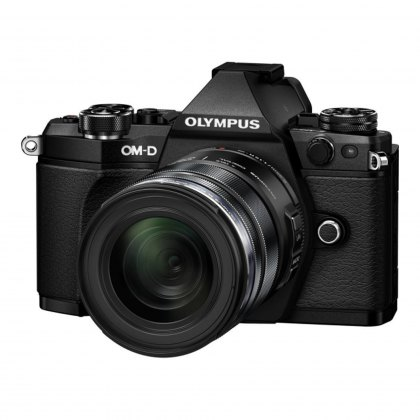 Olympus OM-D E-M5 Mark II with 12-40mm Pro Lens, black