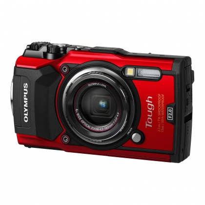 Olympus Stylus Tough TG-5 Camera, red