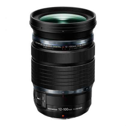 Olympus M.ZUIKO DIGITAL ED 12-100mm f4 Pro Lens, black