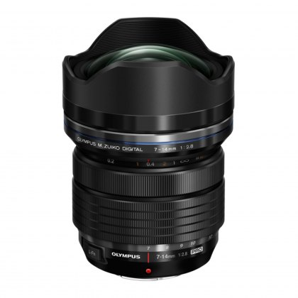 Olympus M.ZUIKO DIGITAL ED 7-14mm f2.8 Pro Lens, black