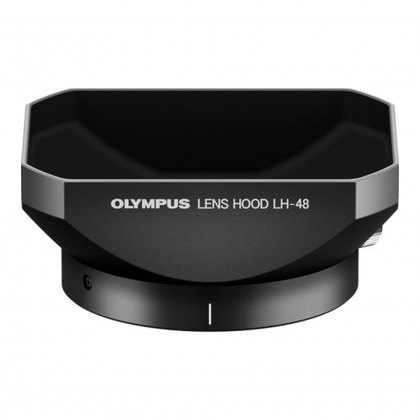 Olympus LH-48 Metal Lens Hood for M.ZUIKO 12mm f2, black