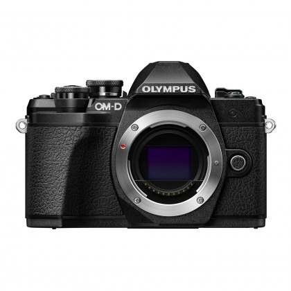 Olympus OM-D E-M10 Mark III Mirrorless Camera Body, black