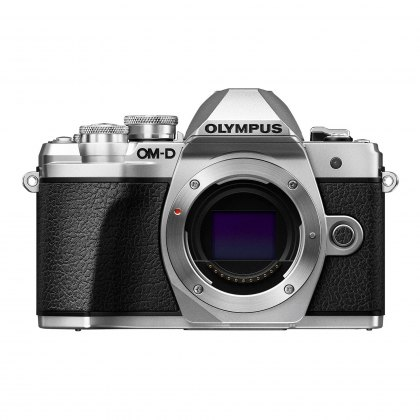 Olympus OM-D E-M10 Mark III Mirrorless Camera Body, silver