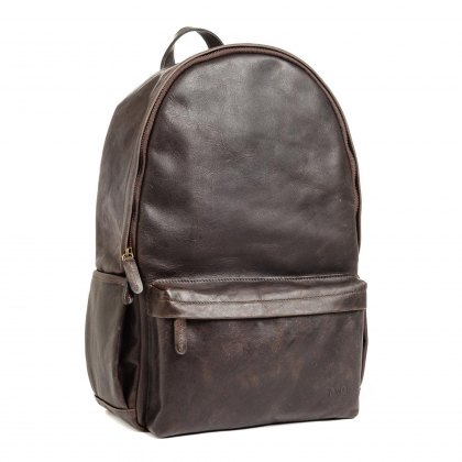 Ona Clifton Backpack - Dark Truffle Leather