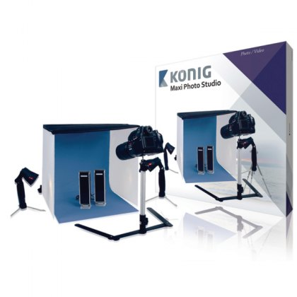 Konig Studio 12 - Maxi Photo studio kit, 60cm