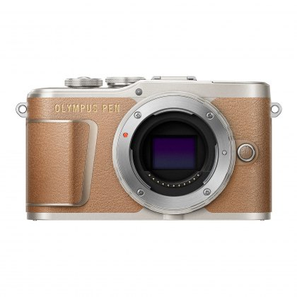 Olympus PEN E-PL9 Camera Body, brown