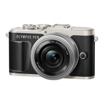 Olympus PEN E-PL9 Camera with 14-42 EZ lens, black