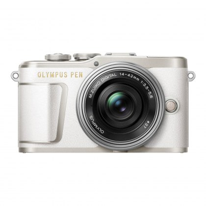 Olympus PEN E-PL9 Camera with 14-42 EZ lens, white