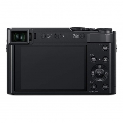 Panasonic Lumix DC-TZ200 Camera, black