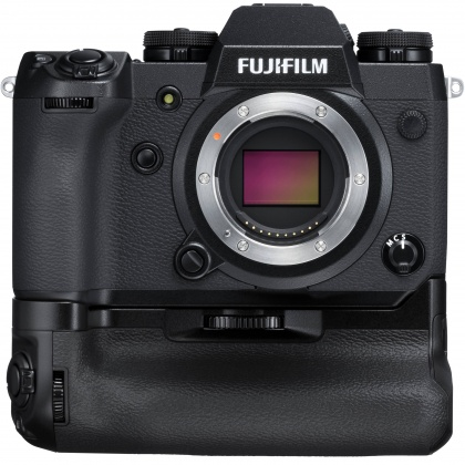 Fujifilm X-H1 Body with Vertical Battery Grip and two extra batteries