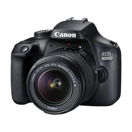 Canon EOS 4000D Camera with 18-55mm III lens