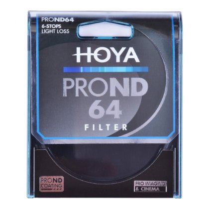 Hoya 82mm Pro ND 64 Filter, 6stops