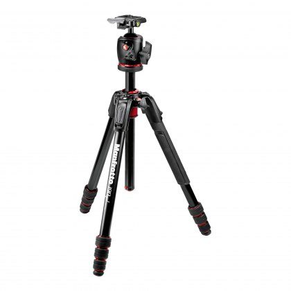 Manfrotto 190go! Aluminum 4-Section M-Lock Tripod with BHQ2 Ball Head