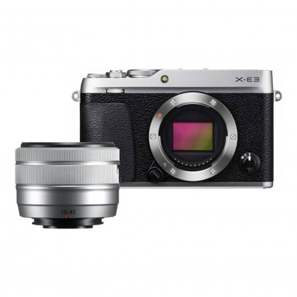 Fujifilm X-E3 with XC15-45mm lens (Silver)
