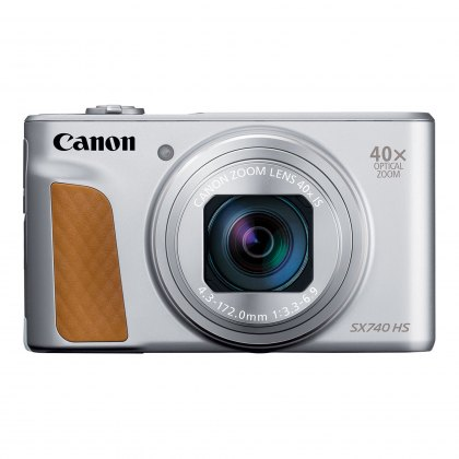 Canon PowerShot SX740 HS Digital Camera, Silver