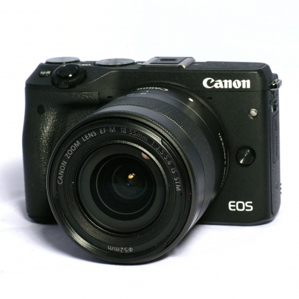 Used Canon EOS M3, 18-55