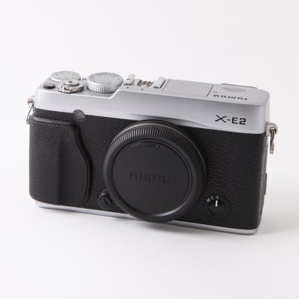 Used Fujifilm X-E2 body, Silver