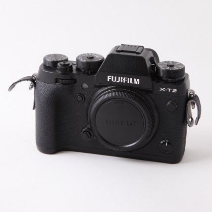 Used Fujifilm X-T 2 body, black
