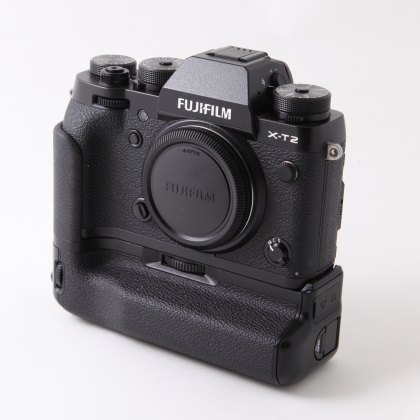 Used Fujifilm X-T2 Body, black & Grip