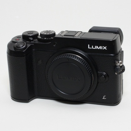 Used Panasonic DMC-GX8 body, black