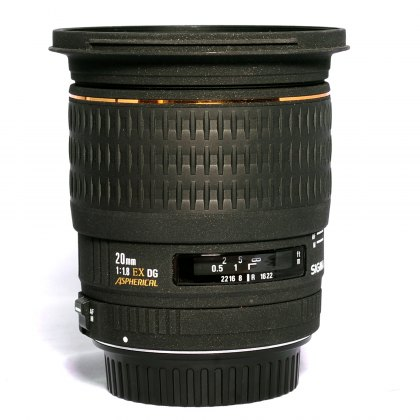 Used Sigma 20mm f1.8 DG for Canon EOS