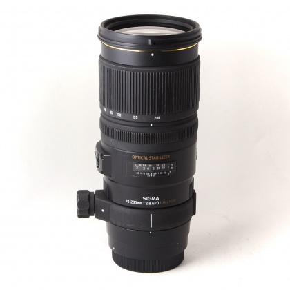 Used Sigma 70-200mm f2.8 EX DG OS for Canon EOS