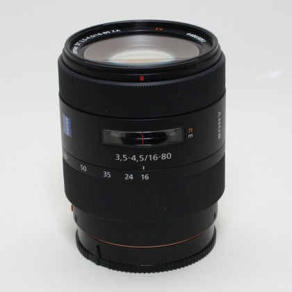 Used Sony DT 16-80mm f3.5-4.5 ZA