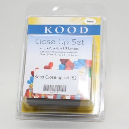 Used Kood Close-Up Set, 52mm