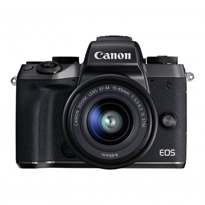 Canon EOS M5 15-45mm with Adapter