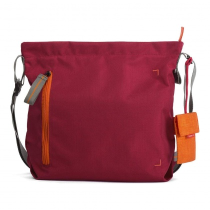 Crumpler Doozie Photo Shoulder S, Deep red/carrot