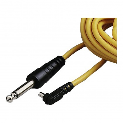 Hama Lead, PC- 1/4 jack, yellow, 5m