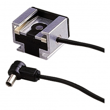 Hama Hot shoe adaptor, camera, with lead