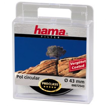 Hama 43mm Circular Polarising filter