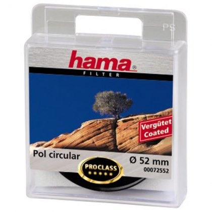 Hama 52mm Circular Polarising filter